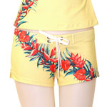 Retro Hawaii Fitted Shorts