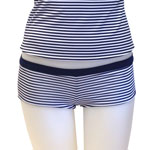 Basic Stripe Reversible Boyshorts