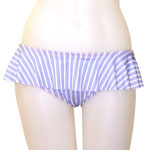 Quadruple Stripe Skirted Bottom