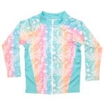 Sea Life Kid's Zipper Front Rashguard