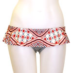 Batik Stripe Skirted Bottom