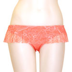 Pure Lace Skirted Bottom