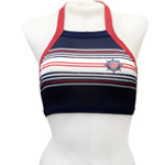 Yacht High Halter Crop Top