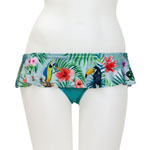 Tropical Bird Skirted Bottom