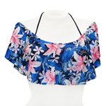 Casablanca Off Shoulder Bandeau Top