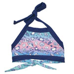 By the Shore Kid's Halter Crop Top