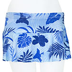 Antique Blue Flared Skort