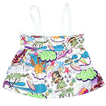 Surfer Girl II Kid's Tankini Top
