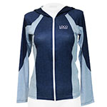 Two Tone Long Sleeve Hooded Rashguard