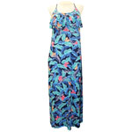 Julia Flounce Front Maxi Dress
