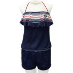 Yacht Flounce Front Romper